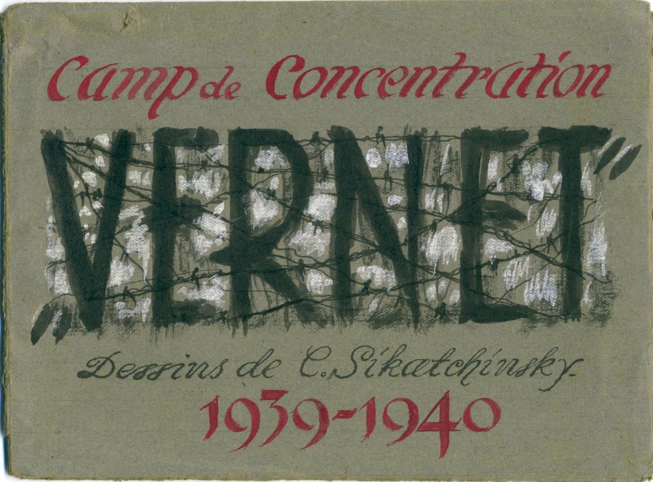 Couverture de la pochette des dessins