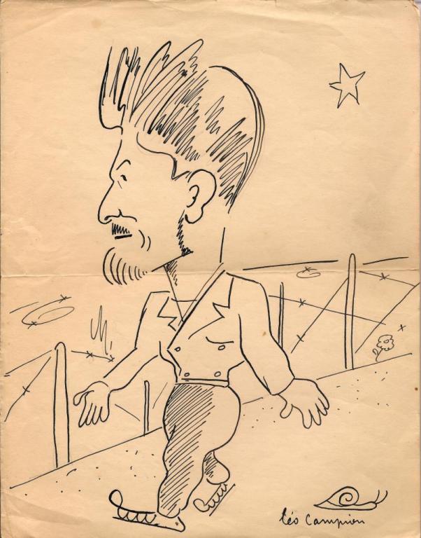 Caricature Leo Campion