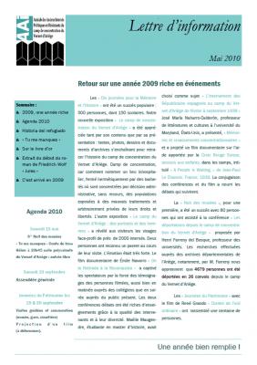 Bulletin mai 2010