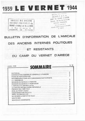 Bulletin 10 1978
