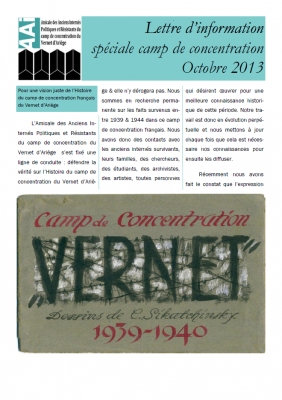 Bulletin octobre 2013