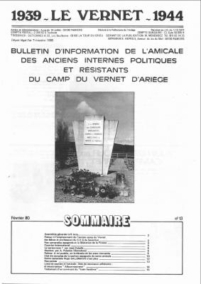 Bulletin 13 1980