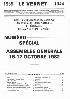 Bulletin 16 1982