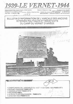 Bulletin 17 1985