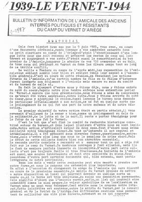 Bulletin 20 1987