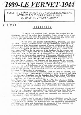 Bulletin 21 1988