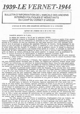 Bulletin 18 1985